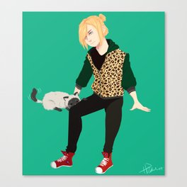 Yurio and Kitty Canvas Print
