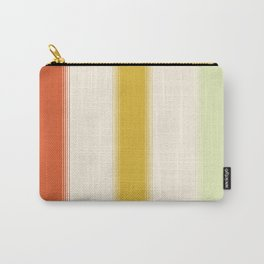 70s Retro Gradient Stripes Carry-All Pouch