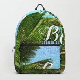 Beach Bum Summer Fun Backpack