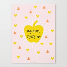 Dream Big, Little One Canvas Print