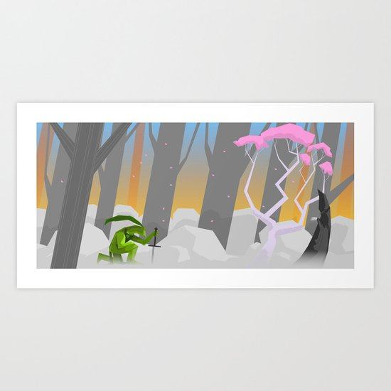 The Offering  Art Print