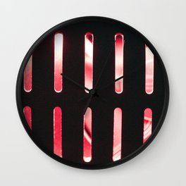 Red radiator Wall Clock