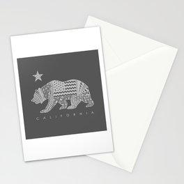 California grey Stationery Cards