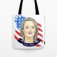 Hillary Clinton 2016 Tote Bag