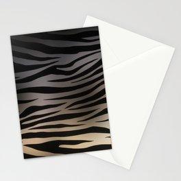 Zebra Sunset Stationery Cards