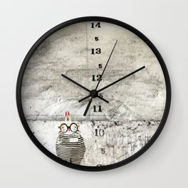 Jail time Wall Clock