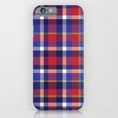 Preppy Plaid iPhone 6 Slim Case