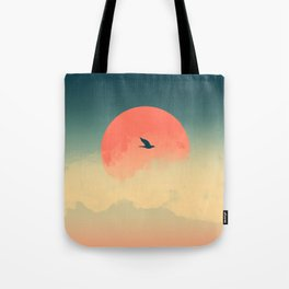 Lonesome Traveler Tote Bag