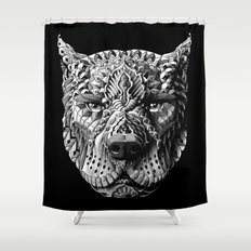 Pitbull Shower Curtain