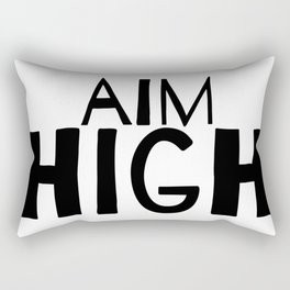 AIM HIGH Rectangular Pillow