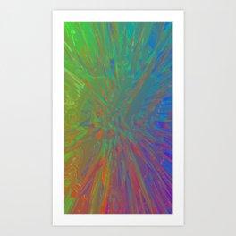 firework Art Print