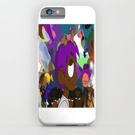Lil uzi vert vs the world iPhone Case