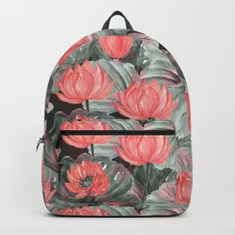 Water Lily .2 Backpack