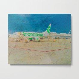 Transavia Boeing 737-300 in Munich Metal Print