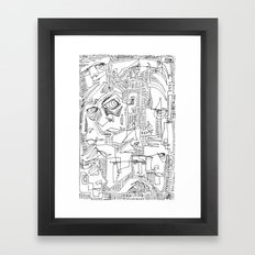 Hooligans Framed Art Print