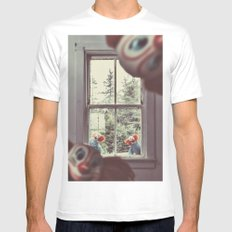Peekaboo! MEDIUM Mens Fitted Tee White