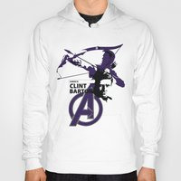 clint barton Hoodies featuring Clint by Mad42Sam