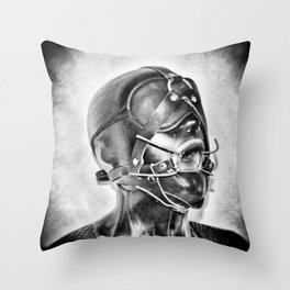 Sex Slave BDSM Throw Pillow