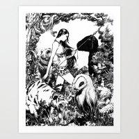 Predator/Prey by John Webb Art Print