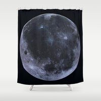 titan Shower Curtains featuring Titan #6 by Tobias Bowman