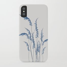 Blue flowers 2 iPhone Case