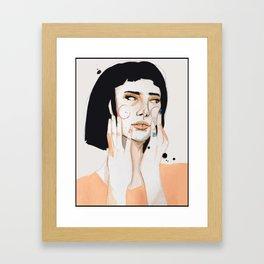 still beating Framed Art Print