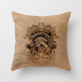 Gladiator Fight or Die Throw Pillow