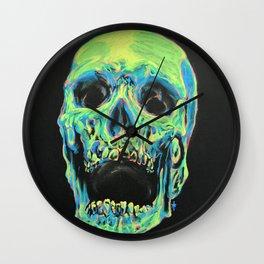 Jelly Skull Wall Clock