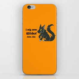 Loyal Familiar (Salem, MA) iPhone Skin