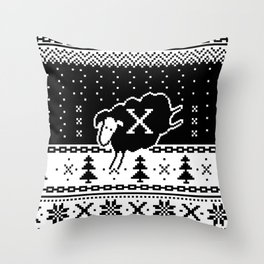 Out Of Step Xmas Throw Pillow