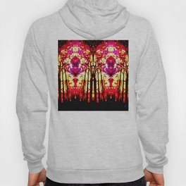 Sunset Stain Glass Hoody