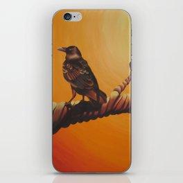 raven. iPhone Skin