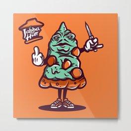 Jabba The Hutt Metal Print