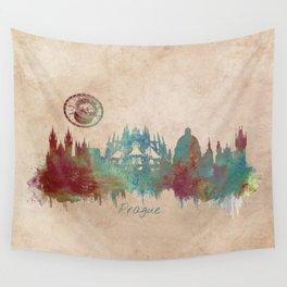 Praha skyline Wall Tapestry