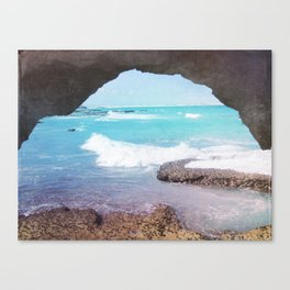 Sea Cave Canvas Print