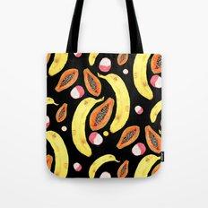tropical juice (black) Tote Bag