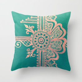 The Peacock Room #2 Throw Pillow