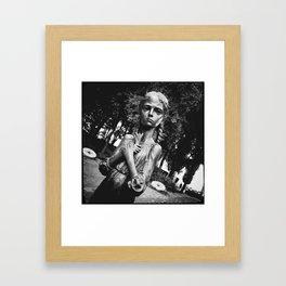 «Bitter memory of the childhood»  [ver.1] Framed Art Print