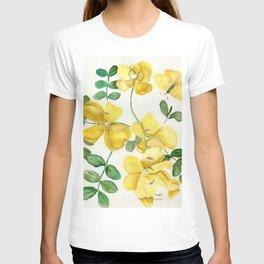 Butterflies and Blooms T-shirt