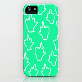Back off #2 iPhone Case