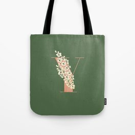 Y for Yellow-Eyed Grass Tote Bag