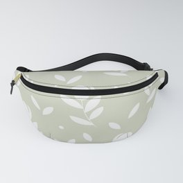 Let it bloom with tulips, floral pattern design Fanny Pack