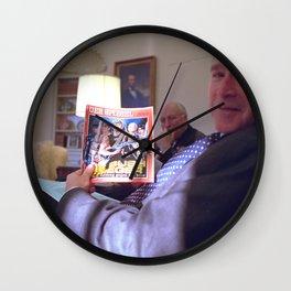Bush the Warrior Wall Clock