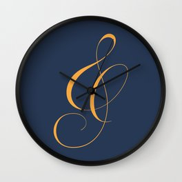 Nautica's Ampersand Wall Clock