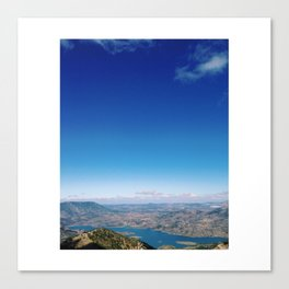 ...To These Heights Canvas Print