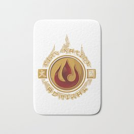 Fire Nation Admiral Bath Mat