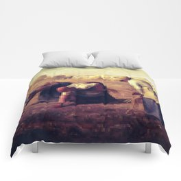 Pixel Jean François Millet Comforters
