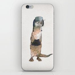Winter Otter iPhone Skin
