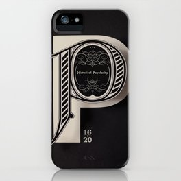 Historical Polarity iPhone Case