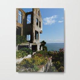 Alcatraz Ruins Metal Print